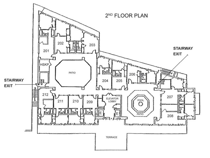 Floorplans | Hotel de la Monnaie